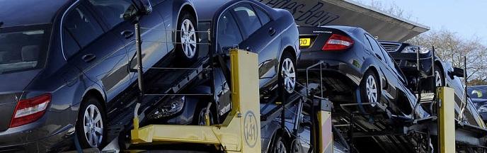 Bedrijfsauto verkopen en via transport vervoeren